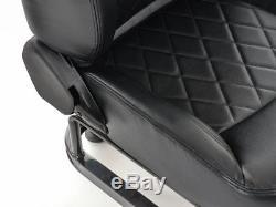 Gaming Car Racing Sim Cadre Chaise Bucket Cadre Du Siège Ps4 Xbox Faux Cuir Noir