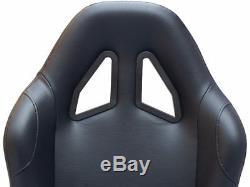 Gaming Car Racing Simulator Cadre Président Bucket Seat Pc Ps3 Ps4 Xbox Noir Forza
