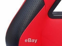 Gaming Car Racing Simulator Cadre Président Bucket Seat Pc Ps3 Ps4 Xbox Noir / Orange