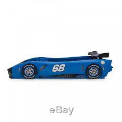 Garçons Filles Race Car Cadre De Lit Double Taille Enfant En Bas Âge Plate-forme __gvirt_np_nn_nnps<__ Mobilier Enfants Chambre
