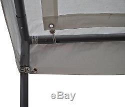 Gazebo Portatif De Couverture De Garage De Cadre D'abri De Voiture D'abri De Parking Extérieur De L'auvent 10x20
