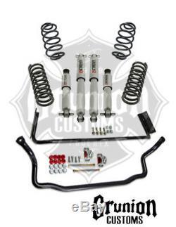 Gm G Body 1978-1988 1/1 Abaissement / Kit Performance Avec Protection Contre Les Chocs Belltech