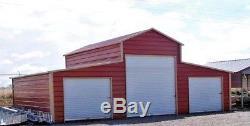 Grange En Métal 44x31 A-cadre En Acier Bâtiment 4 Garage Automobile Agricole Installer Gratuitement