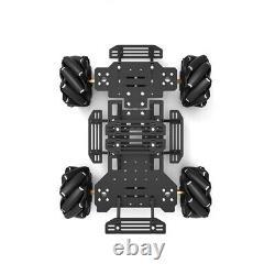 Grosse Taille Mecanum Roue Robot Smart Car Châssis Omnidirectionnel Pour Raspberry Pi