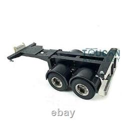 Hercules 2axle 20ft Châssis Kit Pour 1/14 Tamiya Rc Tracteur Tracteur Camion Bricolage