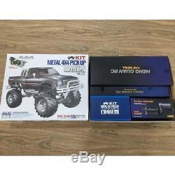 Hg 1/10 Rc Pick-up 44 Kits Sur Chenilles Pour Véhicule De Rallye, Modèle De Châssis, Boîte De Vitesses, Essieux