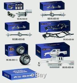 Hg 1/10 Rc Pick-up 44 Série Kits De Chenille Racing Kit Modèles Châssis Essieux Bk