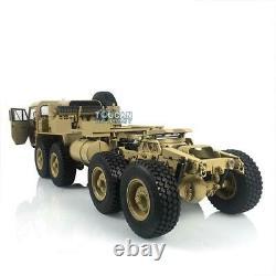 Hg 1/12 Rc P802 Modèle De Camion Militaire Américain En Métal 8x8 Châssis Voiture Radio Moteur Servo