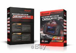 Icarsoft Us V2.0 Diagnosegerät Für Ford Jeep Obd Diagnostiques & Service Rückstellung