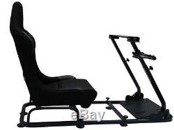 Jeu Course Automobile Volant Cadre Bucket Seat Pc Ps3 Ps4 Xbox Forza Logi