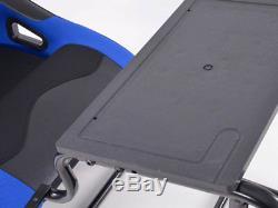 Jeux De Voitures Racing Sim Frame Siège De Seau Ps4 Ps3 Xbox Forza Pc Noir / Bleu
