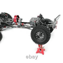 Jkmxrc 1/10 Rc Car Alliage Et Cadre Carbone Axial Scx10 Châssis 313mm Empattement