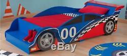 Kidkraft Race Car Meubles Lit De Chambre À Coucher Cadre En Bois Enfants Garçons Enfants