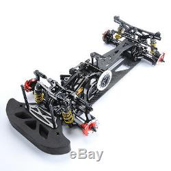 Kit D'assemblage De Châssis De Voiture Modèle Rc Racing En Fibre De Carbone 110 G4 4wd Drift Rc Racing