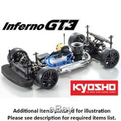 Kit De Châssis De Voiture De Tourisme Kyosho 33010b 1/8 Inferno Gt3 Gp 4wd