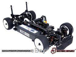 Kit De Course 3racing Kit-m4 Pro Kit De Montage 4 Roues Motrices Châssis Sakura M Pro 1/10 M 2018