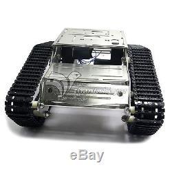 Kit Robot Wifi Pour Châssis De Réservoir De Voiture Intelligente Avec Caméra Gimbal Pour Ios Arduino Android