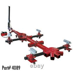 Machine De Redresseur De Cadre De Voiture Portable De 10 Tonnes Champ Spider Avec 4 Pinces 4089