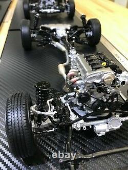 Mazda Miata Mx-5 112 Die-cast Modèle Chassis Collectible Monde 300 Pcs Limitée