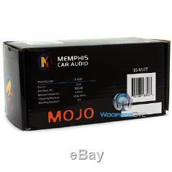 Memphis 15-mjpt 2.28 Car Audio 200w Max Cadre En Aluminium Bullet Corne Tweeters Nouveau