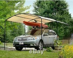 Métal Carports Carport Kits Canopy Garage Acier Cadre Voiture 9 X 16 Bateau Tente Couverture