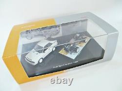 Minichamps'audi Sport Quattro 1985'. Voiture & Châssis Set. 143. Mib/boîte