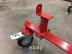 Motamec Universal Car Body Shell Châssis Trolley H-duty Castors Bodyshell Dolly
