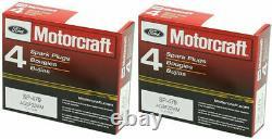 Moteur Moto Platinum Spark Plug Et Bobine D'allumage Haute Performance Pour Ford