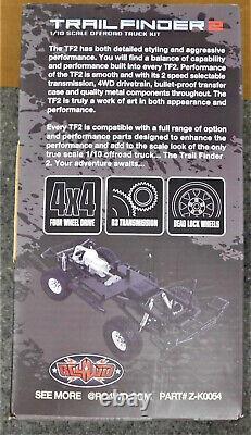 Nib Rc4wd Trail Finder 2 Rc Car Châssis Kit D'assemblage