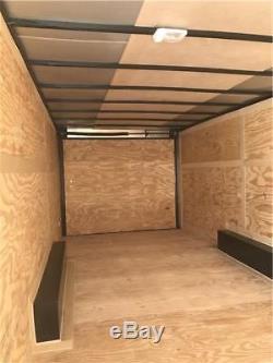 Nouveau 2019 8,5x24 Remorque Fermée Avec Transporteur De Voiture Avec Remorque, Châssis En Tube