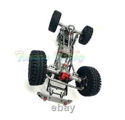 Nouveau 455mm 1/10 Axial Rc Cars D90 Cnc Rock Crawler Chassis Metal Model Witho Servo