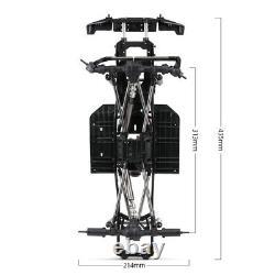 Nouveau Châssis À Empattement Austar 313mm Pour 1/10 Axial Scx10 II 90046 Rc Car
