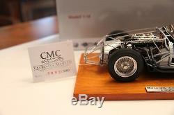 Nouveau Cmc-classique Modèle Maserati Voitures 300s 1956 Châssis Roulant 118 Limitée Modifier