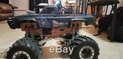 Nouveau Kit Châssis En Aluminium Pour Tamiya 4x4x4 Clod Buster / Tête De Taureau
