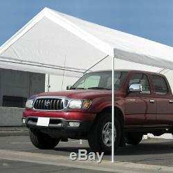 Nouveau Portable Heavy Duty Canopy Garage 10' X 20' Tente Auvent Cadre En Acier