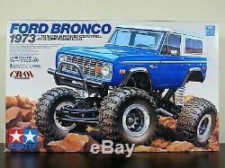 Nouveau Tamiya 1/10 Rc Ford Bronco 1973 Cr-01 Châssis Camion De Voiture Hors Route # 58436