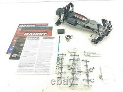 Nouveau Traxxas Bandit Xl-5 1/10 2wd Buggy Drag Car Roller Slider Chassis Metal Gear