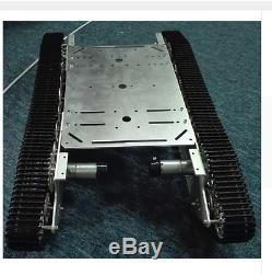 Nouvelle Rc Chariot En Métal Chaine 4wd Robot Sur Chenille Chenillé Chenille Chenille Voiture