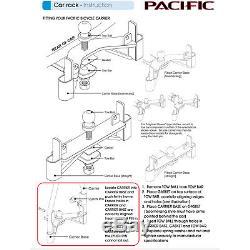 Pacifique A-frame 4 Vélos Boule De Remorquage De Voitures Porte-vélos Boomerang Base