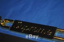 Plaque D'immatriculation Chaîne Supreme Gold Frame Accessoires Voiture