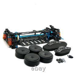 Plastic & Carbon Shaft Drive 1/10 Rc 4wd Touring Car Frame Kit Pour Tt01 Tt01e