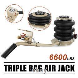 Portable 3 Ton Soulève Triple Étape Sac Air Go Jack Cadre Alignement Camion Boutique De Camions