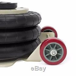 Portable 3 Tonnes Lève Le Triple Étape Bag Air Aller Magasin De Camion Voiture Alignement Cadre Jack