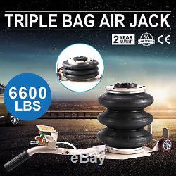 Portable 3 Tonnes Lève Triple Étape Air Bag Aller Magasin De Camion De Voiture Alignement Cadre Jack