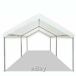 Portable Heavy Duty Canopy Garage Tente Auvent Abri De Voiture Cadre En Acier 10' X 20