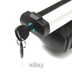 Porte-bagages De Toit En Aluminium De 48 '' Pour Barre De Toit Avec Barre Transversale Et Châssis De Fenêtre + Serrure Us