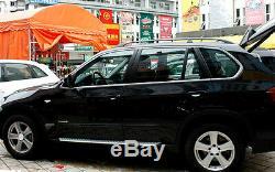 Pour Bmw X5 E70 Appuis De Fenêtre Cadre Moulant Garniture En Acier De 2008-2013 Car Styling