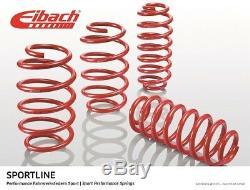 Pour Honda CIVIC Ep3 type R Eibach Sportline Ressorts De Descente Avant 25mm Arrière 20m