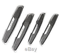 Protecteurs De Protection Anti-rayures Pour Portière Auto-adhésifs Sumex 3m, Look Carbone Noir