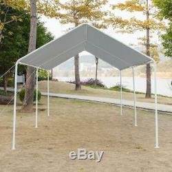 Quictent 20x10 Heavy Duty Abri Voiture Tente Extérieure Canopy Garage Cadre Us Steel